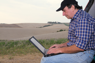 Farmers' First Step in Equipment Shopping: Online